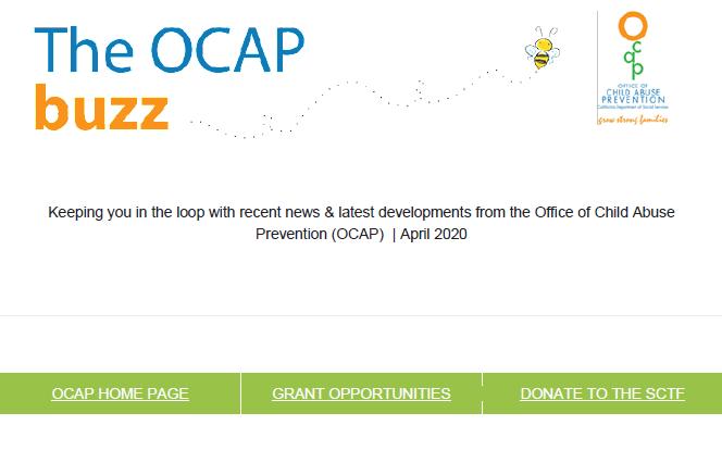CA OCAP Newsletter
